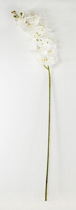 【造花・アートフラワー・シルクフラワー】ラグジュアリー・胡蝶蘭(ホワイト)
