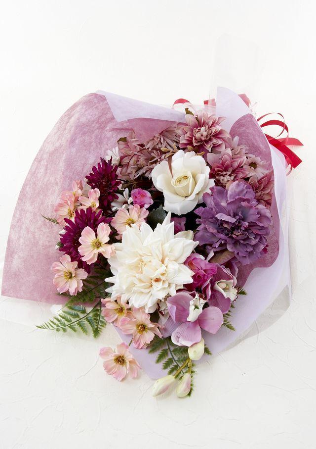 【贈呈用造花花束】イノセントブーケ