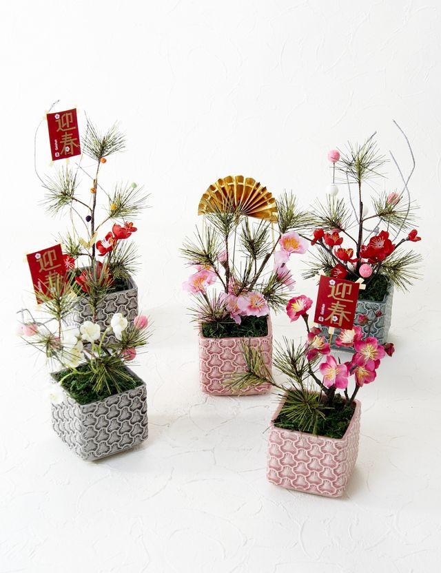 【造花インテリアフラワー/ワイヤーパンプス】プリティーレディー