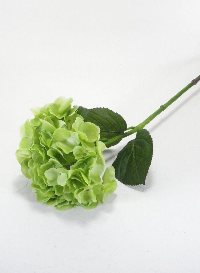 【造花・アートフラワー】紫陽花(グリーン)